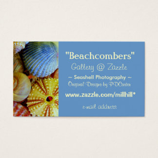 Sea Shells Business Business Card