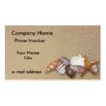 Sea shells - Business Card