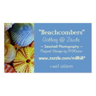 Sea Shells Business Double-Sided Standard Business Cards (Pack Of 100)
