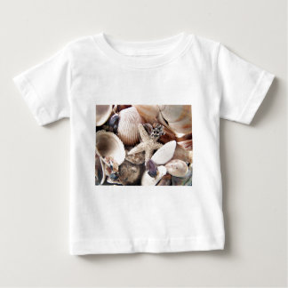Sea Shells by the Shore Baby T-Shirt