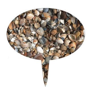 Sea shells cake topper