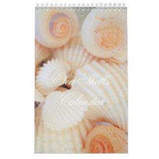 Sea Shells Calendar Exotic Tropical Romantic