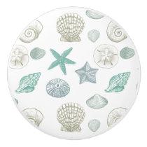Sea Shells Ceramic Knob