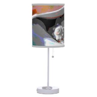 Sea Shells Closeup Table Lamp