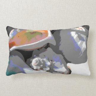 Sea Shells Closeup Throw Pillow