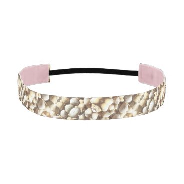 Beach Themed Sea Shells Collection Summer Beach Sunny Hairband Athletic Headband