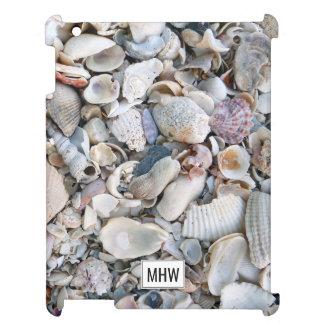 Sea Shells custom monogram device cases Cover For The iPad