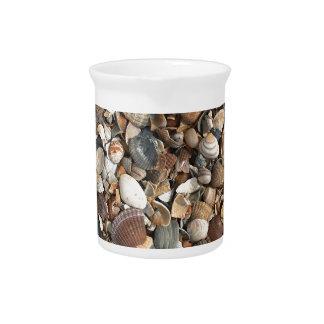 Sea shells drink pitcher
