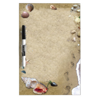 Sea Shells Dry Erase Whiteboards