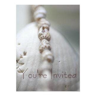 Sea Shells Invite 2
