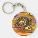 Sea shells key chains