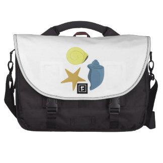Sea Shells Laptop Commuter Bag