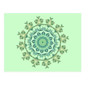 Sea Shells Mandala Postcard