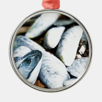 Sea Shells Metal Ornament