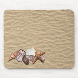 sea shells mouse pad