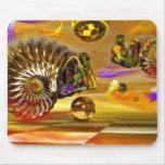 Sea shells mousepads