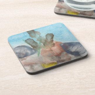 Sea Shells on the Sea Bed. Coaster