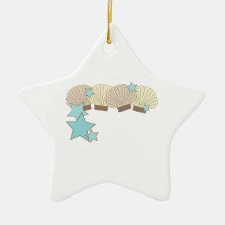 Sea Shells Christmas Tree Ornaments
