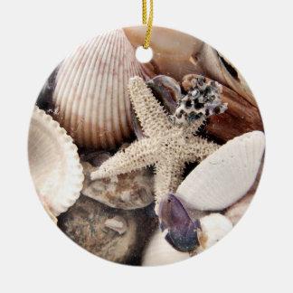 Sea Shells Christmas Ornaments