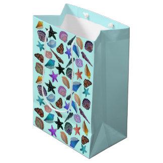 Sea Shells Pattern Gift Bags Medium Gift Bag