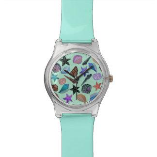 Sea shells Pattern Wristwatch