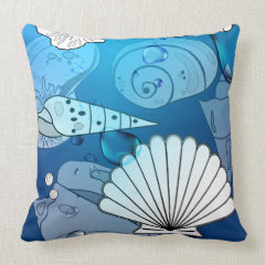 Sea Shells Pillow