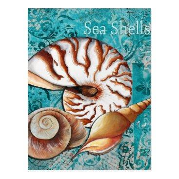 MADART_GALLERY Sea Shells Postcard