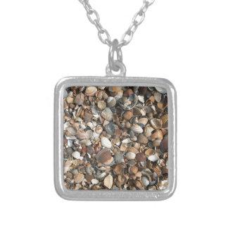 Sea shells silver plated necklace