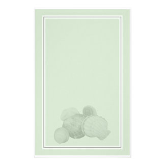 Sea Shells Stationery