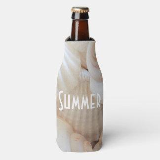 Sea Shells, Summer Beach Exotic Tropical Romantic Bottle Cooler