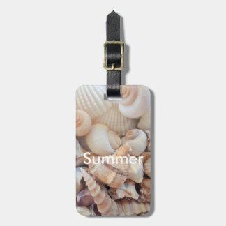 Sea Shells, Summer Beach Exotic Tropical Romantic Luggage Tag