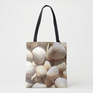Sea Shells, Summer Beach Exotic Tropical Tote Bag