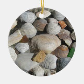 Sea Shells, surfer style Ornament