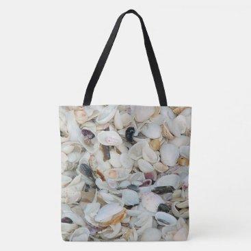 Beach Themed Sea Shells Tote bag