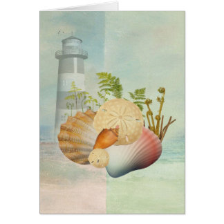 Sea Shore and Sheels Greeting cards