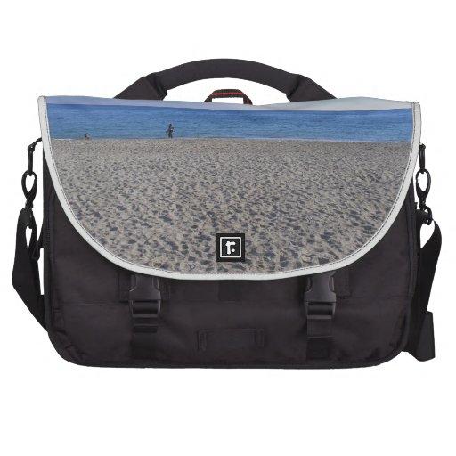 Sea shore beach laptop bags