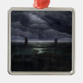 Sea Shore in Moonlight, 1835-36 Metal Ornament