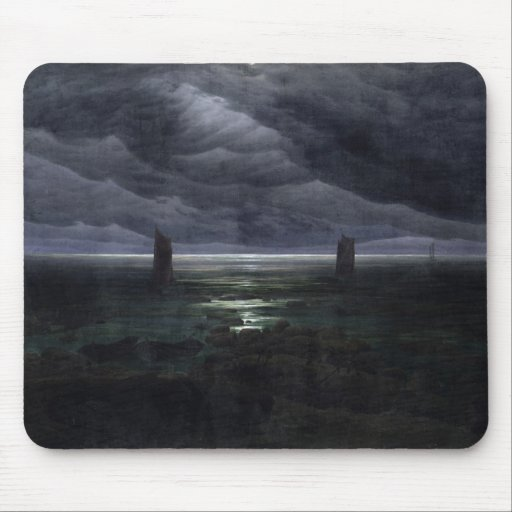 Sea Shore in Moonlight, 1835-36 Mouse Pad
