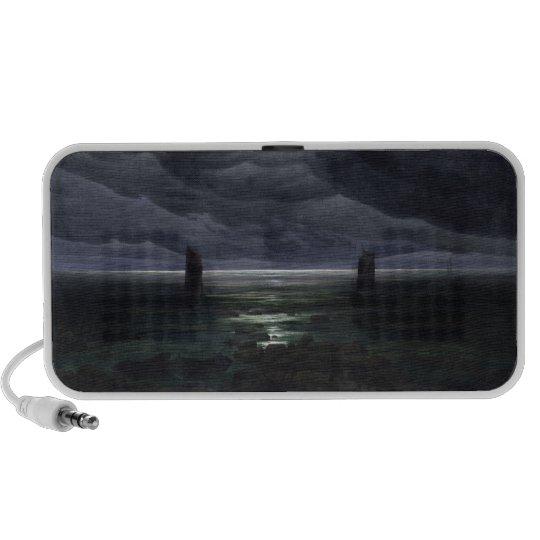 Sea Shore in Moonlight, 1835-36 Speaker