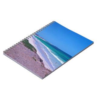 Sea shore notebook