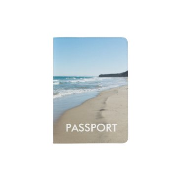 Beach Themed Sea shore passport holder