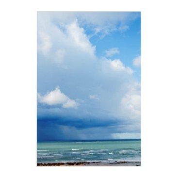 anakondasp sea shore. Spain Acrylic Print