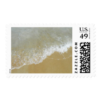 Sea Shore Tide Postage Stamp