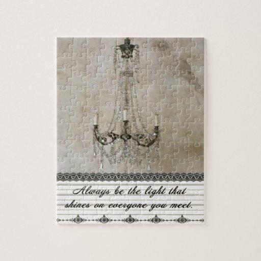 Sea siempre la luz puzzle
