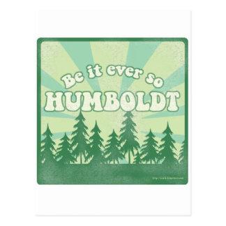 Sea siempre tan Humboldt Tarjeta Postal