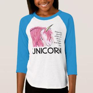 Sea siempre usted mismo los chicas de 3/4 camiseta