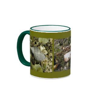 Sea Snail, Hermit Crab, Starfish Ringer Mug