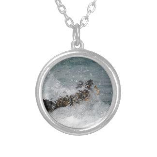 Sea Spray Silver Plated Necklace