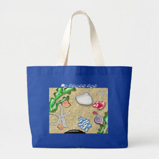 sea spread tote bags