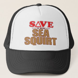 Sea Squirt Save Trucker Hat